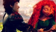 Merida & Hiccup - Kiss You!!!!! THIS IS AMAZING!!!!