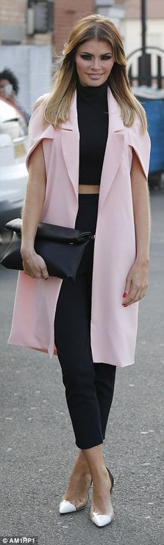 Dressed to impress? Chloe and her ex Elliott Wright have been getting on very well recentl...