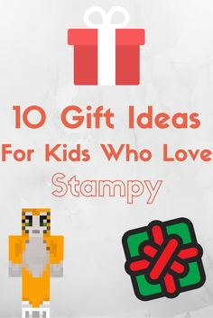 Love this! My kids love stampy cat. These gift ideas are great for kids who love Minecraft and watching stampy longnose on Youtube.