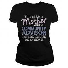 COMMUNITY ADVISOR - MOTHER #shirt #Tshirt. CHEAP PRICE:  => https://www.sunfrog.com/LifeStyle/COMMUNITY-ADVISOR--MOTHER-109624820-Black-Ladies.html?id=60505