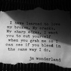 ... same color, different blood ... ------------------------------------ #blackhearts #broken #artistsofinstagram #quotes #writersofig #writersofinstagram #poetsofig #writingcommunity #poetrycommunity #spilledink #creativewriting #prose #wordsmith #latenightwritings #typewriter #blackhearts #amwriting #tattoo #jmwonderland