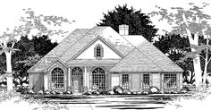 New American House Plan with 3029 Square Feet and 4 Bedrooms(s) from Dream Home Source   House Plan Code DHSW41354