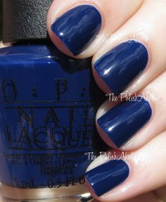 OPI MLB Collection Swatches