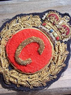 vintage patch. C is for coolest.