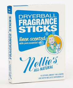 Another great find on #zulily! Linen Dryer Stick - Set of 10 by Nellie's All-Natural #zulilyfinds