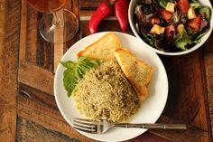 Pesto Cabbage Noodles