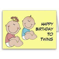 Happy birthday to twins