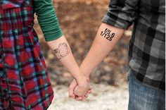 Matching Tattoo Ideas To Share With Someone You Love
