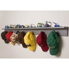 Hat holder---my boys need this!
