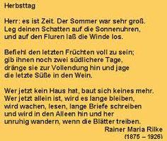 Ich liebe es! Rainer Maria Rilke - Gedichte