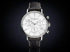 Fromanteel generations horloge chrono witte wijzerplaat GS-1201