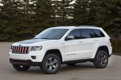 The Jeep Grand Cherokee Trailhawk Concept