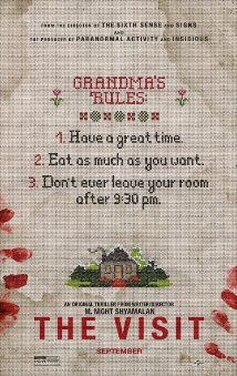 The Visit Movie Poster Best Movie Posters, Horror Movie Posters, Horror Movies, Film Posters, 2015 Movies, Hd Movies, Movies Online, Scary Movies, Great Movies