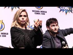 VIDEO: David Tennant & Billie Piper At Wizard World Comic Con Philadelphia On Doctor Who Companions
