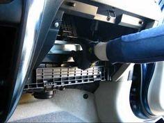 Cabin air filter replacement- Suzuki SX4