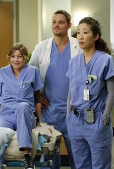 meredith, alex and cristina