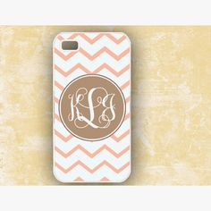 Soo cute monogram iPhone case.
