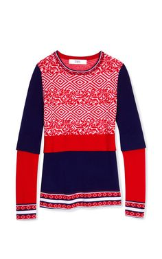 Sweater Vest Sweater by Prabal Gurung Now Available on Moda Operandi