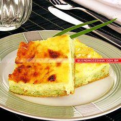 Receita de Torta de cheiro-verde