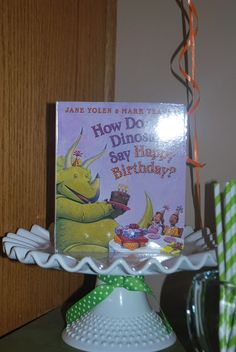 Put out on the morning of his actual bday~any bday themed book