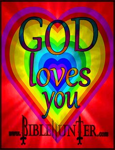 Has someone told you today that God loves you? He made you so He loves you like you would love your kid or kids, Except Him today and you will have a greater love for Him, others, and yourself!!!