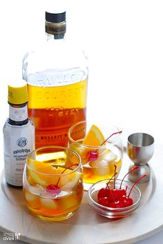 How To Make An Old Fashioned Cocktail | Gimme Some Oven