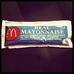 Maccas mayonnaise is superior (Taken with Instagram)