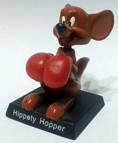 "Hippety Hopper, numero 27 della ""Looney Tunes Collection"" (2012) #Miniatures #Figures #LooneyTunes"