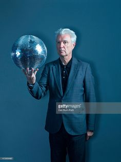 Musician, singer and artist David Byrne is photographed for Independent on…