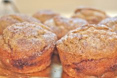 Em the Baker: GF Cinnamon Swirl Banana Muffins bread cake healthy muffins pudding recipes chocolat plantain recette recette Banana Recipes, Gf Recipes, Gluten Free Recipes, Cinnamon Banana Bread, Banana Bread Muffins, Strudel, Healthy Baking, Healthy Desserts, Brownies