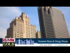 Suzanne Hunn and Gregg Sharpe - Luxury Highrise Realtors * St. Louis, MO. * Looking to *Lease or Buy or Sell* a Highrise Loft or Condo or Townhome ..... Call 314-276-4663
