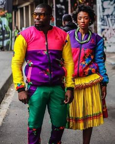 African Outfits, African Fashion, Fashion Couple, Women's Fashion, Couple Style, African Print Clothing, Pedi, Slay, Identity