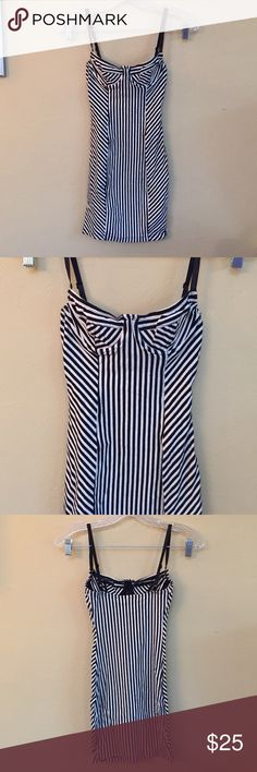 American apparel stripe bodycon dress XS. Good condition. American Apparel Dresses Mini