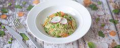 Qooking.ch | Salade de quinoa aux légumes de printemps