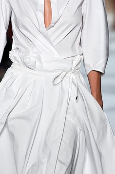Beautiful wrap dress, but I would need to button up one more level. : )  The Gifts Of Life