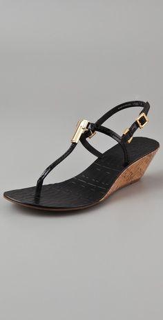 Tory burch Pauline wedge sandals $265 shopbop.com