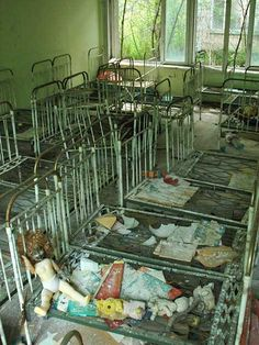 Abandoned Orphanage Nursery: Pripyat, Ukraine