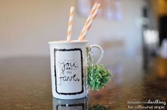 need a simple gift idea how about sharpie mugs, crafts