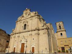 """""""Basilica Maria S.S. del Rosario"""", Franca Villa Fontana, Puglia, Italia (Luglio)"""