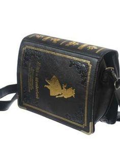 Japanese Lolita Alice book purse
