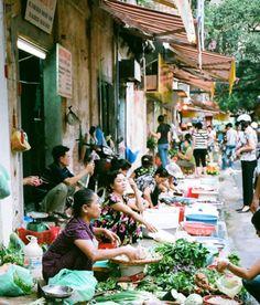 Market in Hanoi - Ha Noi, Vietnam.  -kc