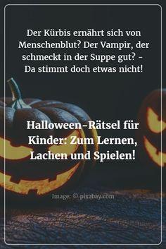 """Vertauschte Begriffe, eine Geistergeschichte als Gedächtnistraining, Rechtschreib-Quiz und Halloween-""""Märchen"""": Fünf unterhaltsame Kinderrätsel rund um das Gruselfest Halloween!"""