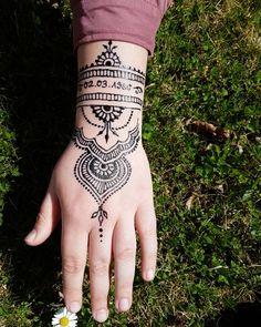 #henna #neha_mehandi #temporäres_tattoo #temporary_tattoo #henna_by_rinkitoku #hand #date