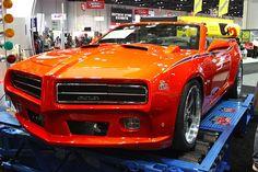 Modern GTO Judge built off  camaro --- awesome!!