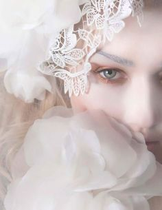 Magazine Editorial, Editorial Fashion, Winter Princess, Stylists, Snow Flakes, Floral, Model, Hair, Photography
