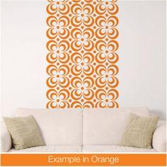 retro wallpaper vinyl wall sticker - £20 from http://www.ebay.co.uk/itm/Vinyl-Wall-Sticker-Art-Decal-Retro-Wallpaper-Pattern2-/180666796623?pt=UK_Wallpaper==item6fc3d53708