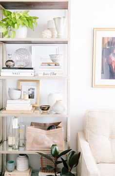 Shelf styling by apartment 34 (apartment 34 office)