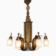 Französischer Art Deco Bronze Kronleuchter, 1920er Jetzt bestellen unter: https://moebel.ladendirekt.de/lampen/deckenleuchten/kronleuchter/?uid=1ad46ef0-ae45-529c-8b55-6a1b1e1cd0dc&utm_source=pinterest&utm_medium=pin&utm_campaign=boards #deckenleuchten #kronleuchter #lampen