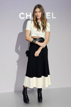 Celebs at the Chanel Show in Paris ~ Elisa Sednaoui