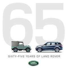 #Land #Rover Still strong after 65 years.....the one on the left is now probably the more desirable!